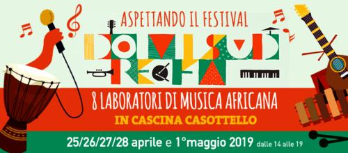 """IL 25 APRILE PARTE LA """"SCUOLA DI MUSICA""""  AL  C.I.Q. IL 1 MAGGIO CONCERTO-PROVA APERTA DEGLI ALLIEVI, ASPETTANDO  """"DOREMIFASUD""""."""