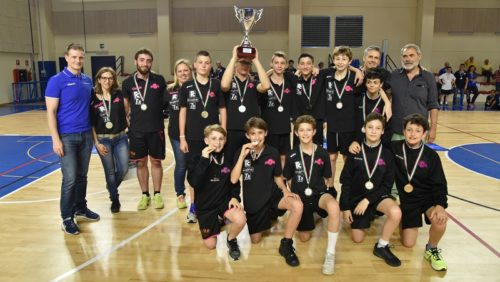 Giovani atleti in campo per le Finali di Campionato e Trofeo U13 maschile