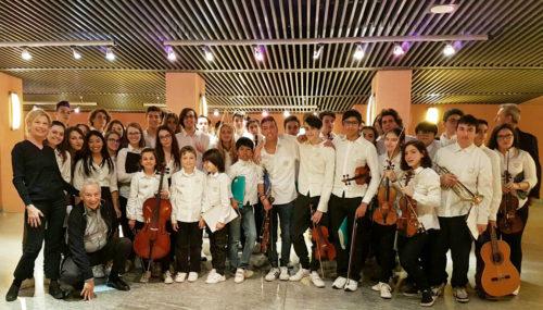 """Gran Concerto """"La musica trasforma le diversità in speranza, ogni sfida in azione, i sogni in realtà"""" Josè Antonio Abreu"""