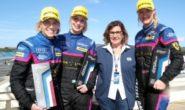 Donne nello sport: al Monza Eni Circuit l'incontro tra l'equipaggio femminile Kessel Racing e le campionesse di ciclismo della squadra BePink