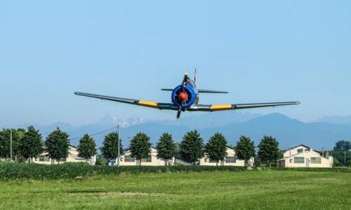 2 giugno 2019 Museo Volante Raduno di rari e preziosi aerei storici sull'aviosuperficie San Martino a Ceresara (Mantova)