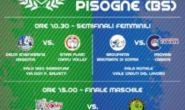 Pisogne ospita le Finali Scudetto serie C maschile e femminile