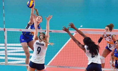 Volleyball Nations League: prima sconfitta azzurra, 3-2 contro gli Usa