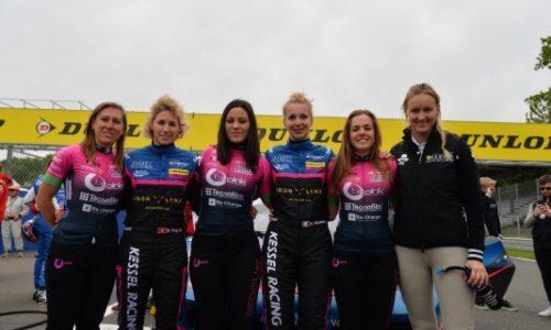 BePink e Iron Dames si incontrano per promuovere lo sport femminile