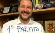VINCE LA LEGA PRIMO PARTITO IN ITALIA CON PIU DEL 34 PER CENTO DEI
