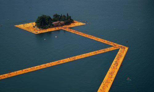 The floating Piers diventa un film documentario