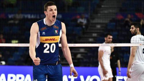 VNL Maschile: gli azzurri vincono 3-0 contro la Germania