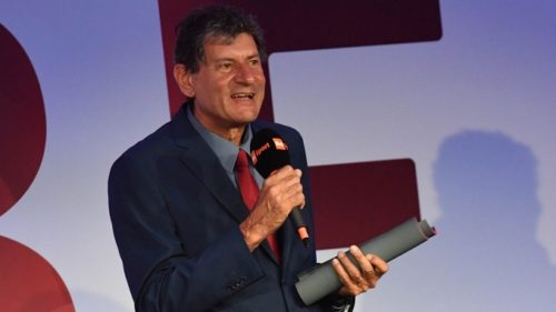 Sitting Volley: Amauri Ribeiro riceve il premio di miglior tecnico agli Italian Paralympic Awards