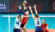 Volleyball Nations League: il Belgio vince 3-2, le azzurre quarte in classifica