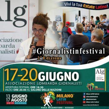 ASSOCIAZIONE LOMBARDA DEI GIORNALISTI PRESENTA 2° EDIZIONE DI #GIORNALISTINFESTIVAL