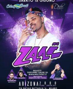 MC Zaac in concerto Il funk brasiliano approda a Milano