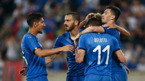 L'ITALIA VINCE IN GRECIA CON UNO SCHIACCIANTE 3-0