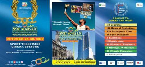 Sport Movies & Tv Milano 25 – 30 ottobre 2019