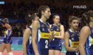 Universiadi 2019: le azzurre sono medaglia d'Argento, la Russia vince 3-1