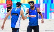 Beach volley Gstaad cinque stelle: Nicolai/Lupo chiudono al quarto posto