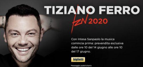 TIZIANO FERRO TZN2020 IL TOUR NEGLI STADI