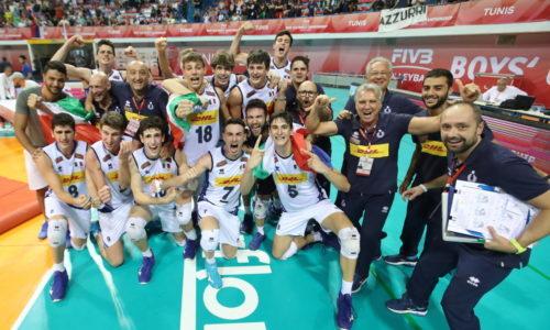 Campionato Mondiale Under 19 dopo 22 anni gli azzurrini sono medaglia d'Oro