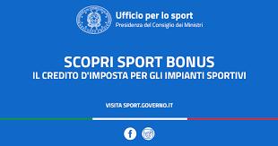 Sport Bonus 2019: 3,8 milioni di euro restituiti all'impiantistica sportiva