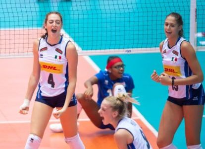 Campionati Mondiali U18: le azzurrine sono tra le migliori otto