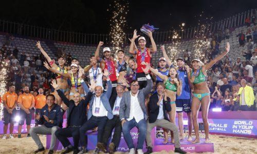 Rome Beach Volley Finals: medaglia d'oro per Ludwig-Kozuch e Stoyanovskiy-Krasilinkov