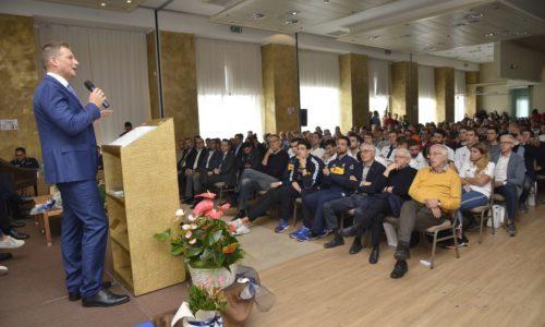 La Cerimonia di Premiazione ha aperto la nuova stagione pallavolistica