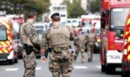 AGGREDITI POLIZIOTTI A PARIGI DA UN UOMO CON COLTELLO