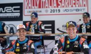 Dani Sordo e Andreas Mikkelsen al Monza Rally Show