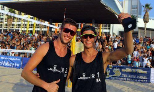 World Tour 1 stella Tel Aviv: trionfano gli azzurrini Windisch-Cottafava