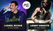LIONEL RICHIE e LENNY KRAVITZ al MONTREUX JAZZ FESTIVAL 2020