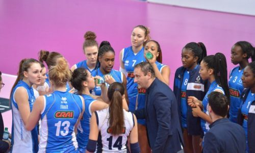 Serie A2 Femminile: le azzurrine conquistano un punto a Martignacco